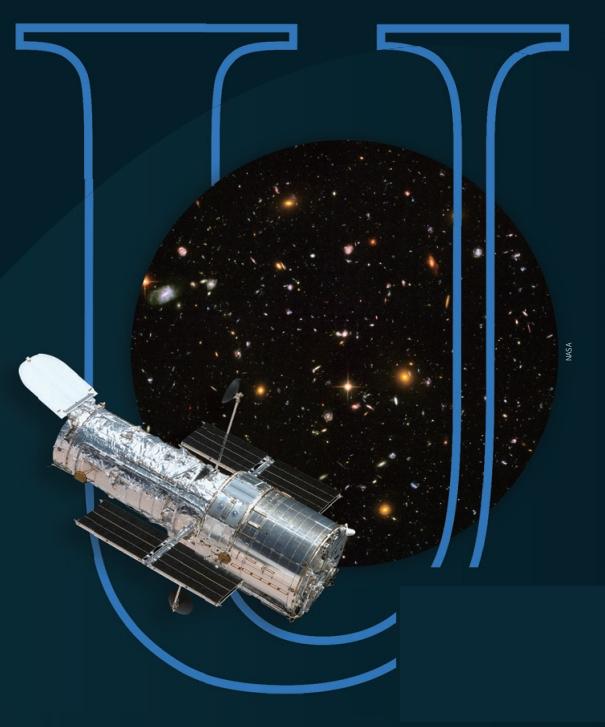 허블우주망원경이 2003년 9월 24일부터 2004년 1월 16일까지 찍은 사진을 합친 ′허블 울트라 딥 필드′ 이미지다. 약 1만 개의 은하가 찍혔다. NASA 제공