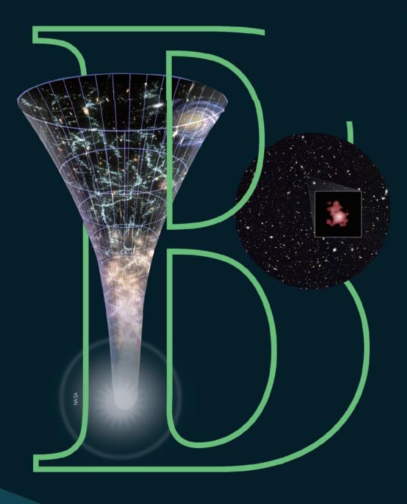 빅뱅 이후 시간의 흐름에 따라 우주가 팽창하는 과정을 그린 그림(왼쪽). 2016년 국제 공동연구팀이 허블우주망원경으로 관측한 은하 GN-z11은 초기 우주인 빅뱅 후 4억 년 뒤에 생긴 은하다. NASA 제공