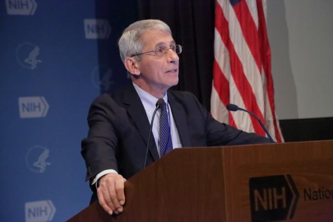 앤서니 파우치 미국 국립알레르기및전염병연구소(NIAID) 소장. NIAID 제공