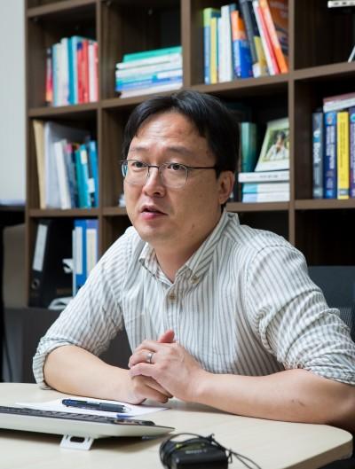 김승준 광주과학기술원(지스트) 융합기술학제학부 교수는 인간과 컴퓨터의 상호작용(HCI)과 인공지능(AI), 그리고 가상현실(VR) 및 증강현실(AR)을 연구하고 있다. ⓒ동아사이언스