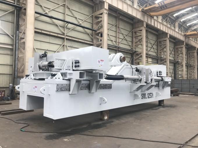 국제핵융합실험로(ITER)의 조립장비인 섹터인양장비의 모습이다. 1250t 무게의 ITER 섹터 하나를 옮겨주는 역할을 한다. 국가핵융합연구소 제공