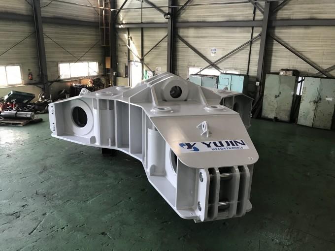 섹터인양장비와 함께 개발을 마치고 이달 28일 프랑스로 출항한 CS자석인양프레임의 모습이다. 국가핵융합연구소 제공
