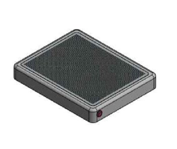 벤텍프론티어가 만든 외부 장착 가능한 광촉매 필터 ′바이로(V-100)′. 한국건설기술연구원 제공