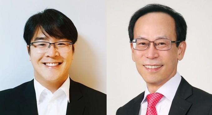 유용상 KIST 선임연구원(왼쪽)과 이신두 서울대 전기정보공학부 교수. KIST 제공.