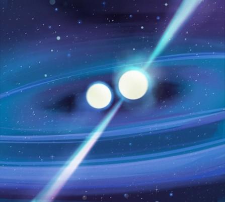 중성자별 이중성계 관측해 우주 팽창속도 '고민' 푼다