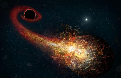 태양계 끝 제9 행성은 자몽크기 블랙홀일까?