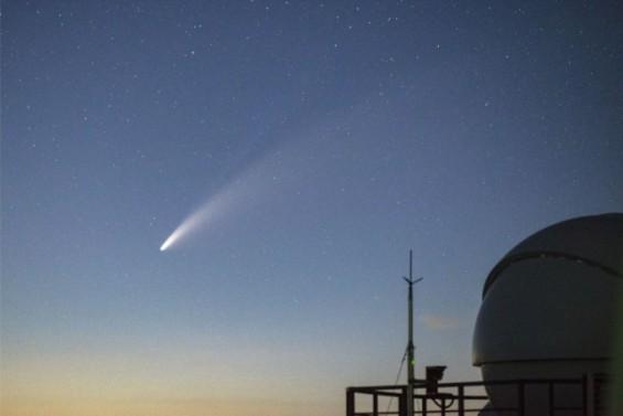 보현산천문대에서 포착된 '니오와이스' 혜성
