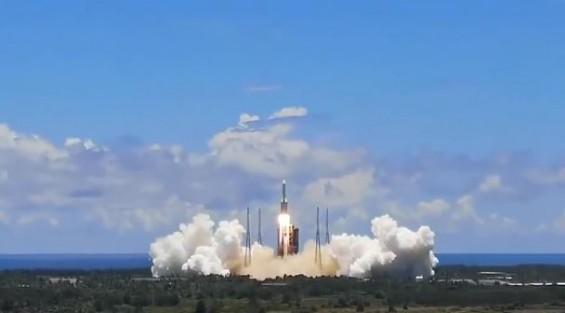 중국, 자체 발사체로 화성탐사선 '톈원 1호' 발사 성공