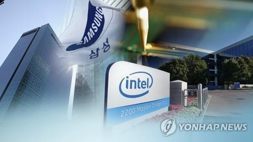 인텔에 밀리고, TSMC에 쫓기고…갈길 바쁜 삼성전자 반도체