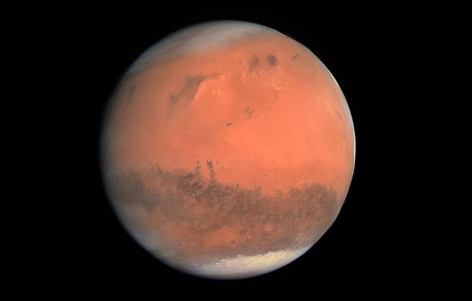 화성의 모습. 위키피디아 제공