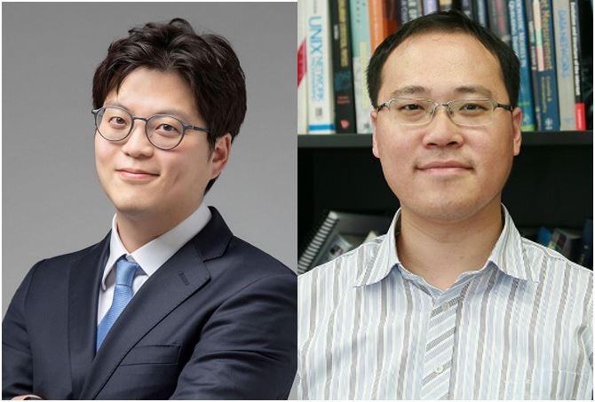 김성민(왼쪽)∙이융(오른쪽) KAIST 전기및전자공학부 교수. KAIST 제공