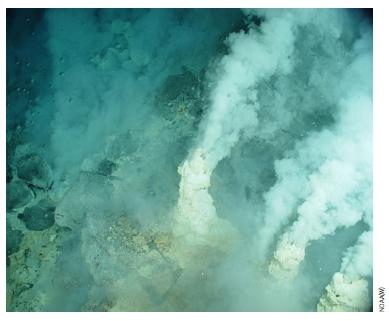 심해 열수구의 모습. 리 딕 미국 미시간대  제공