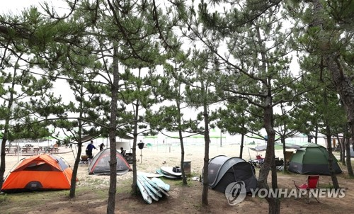 '야외라고 방심하면 금물' 캠핑장서 첫 집단감염 확인