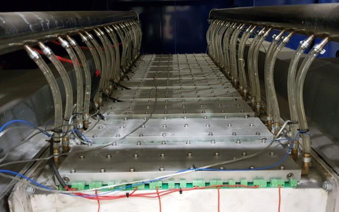 KCC 김천공장에 설치된 열전발전용 모듈의 모습이다. KCC 제공
