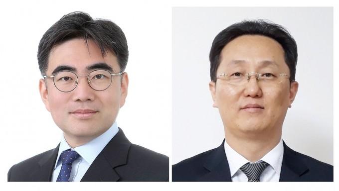 김경훈(왼쪽) 에이텍에이피 책임연구원, 심재훈(오른쪽) 현대자동차 책임연구원. 과기정통부 제공