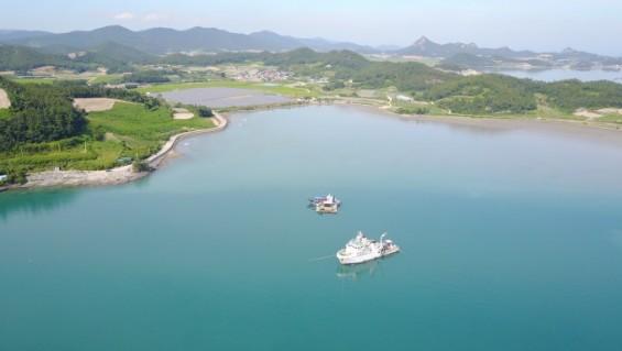 명량해전 수중문화재, 해저 탄성파 기술로 찾는다