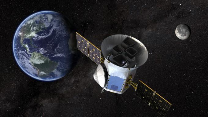 미국항공우주국(NASA)의 ′행성사냥꾼′ 테스(TESS) 위성의 모습이다. 미국항공우주국 제공