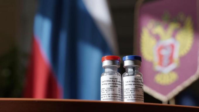 러시아가 개발해 세계 최초로 등록한 코로나19 백신 '스푸트티크V'. 양산 체제에 들어가 임상 3상을 진행하는 동시에 백신 접종을 시작한다고 한다. 러시아 보건부 제공.
