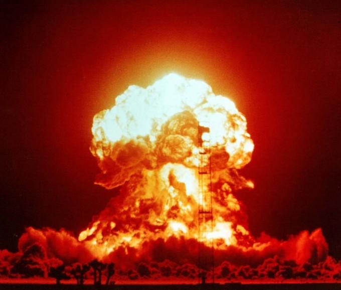 미국 네바다에 위치한 국가핵안보국(NNSA)의 핵실험 장소. 위키피디아 제공