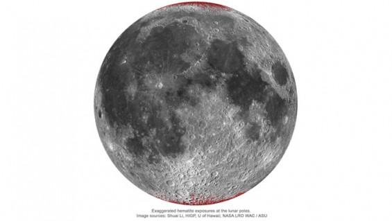 지구가 달을 녹슬게 했다