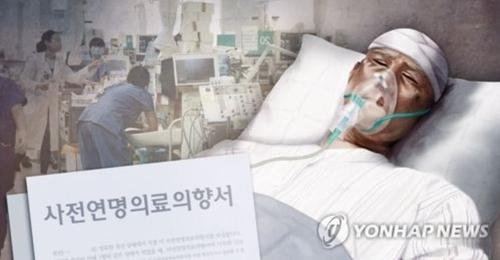 암 사망 10명 중 3명은 연명의료 중단…4050 '스스로 결정' 많아