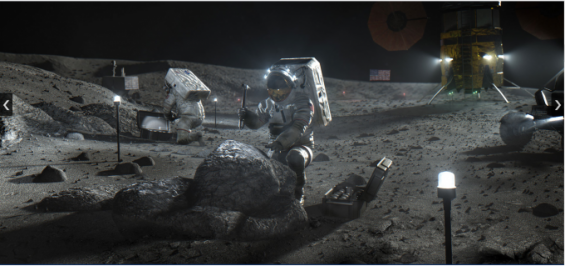 2024년 재개한 유인 달 탐사에선 첫 발은 '우먼 퍼스트'