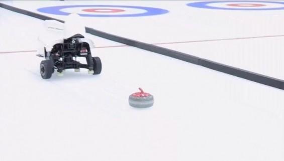 국가대표급 실력 AI 컬링 로봇 나왔다