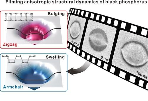 신소재 '흑린' 변형 모습 초고속 전자현미경으로 최초 포착