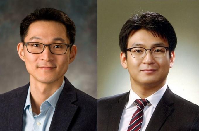 지솔근(왼쪽) 광주과학기술원(GIST) 기계공학부 교수와 박동훈(오른쪽) 부산대 항공우주공학과 교수. GIST 제공