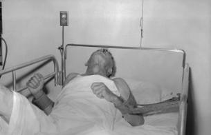 광견병 환자. 위키미디어 제공
