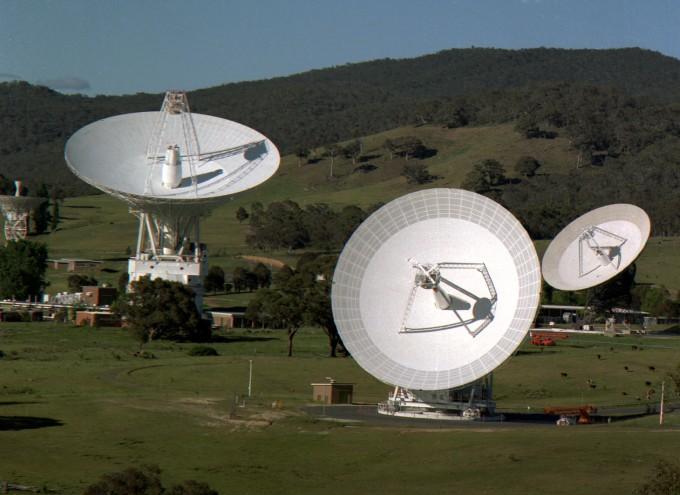 호주 캔버라 인근에 위치한 미국항공우주국(NASA) NASA 제공
