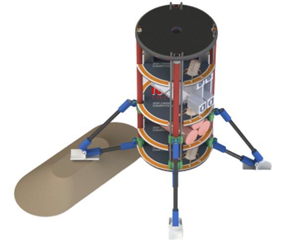 캔위성의 모습. 과학기술정보통신부 제공
