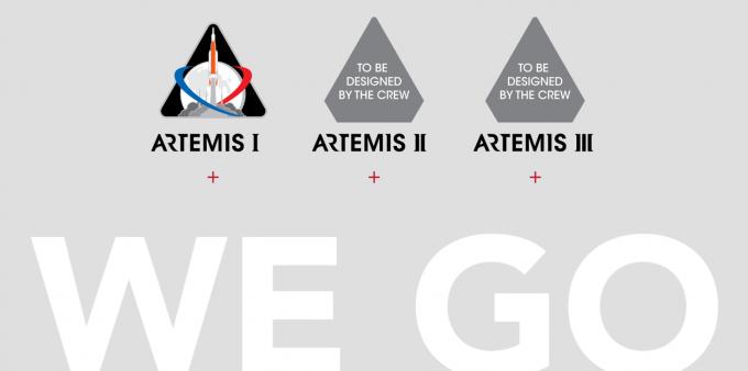 3단계에 걸쳐 진행될 ′아르테미스 계획′을 설명하는 모식도. NASA 홈페이지 캡처
