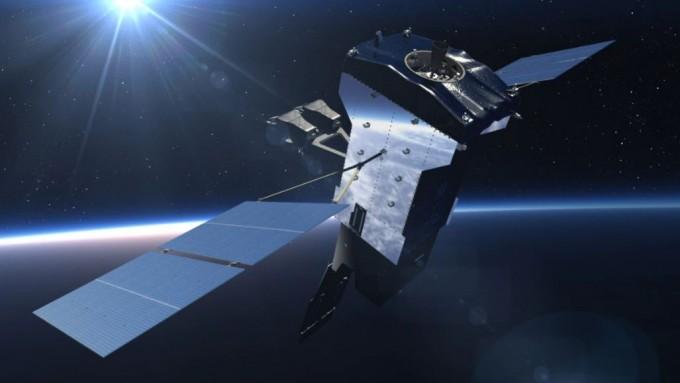 우주 기반 적외선 탐지시스템 위성(SBIRS) 이미지. 록히드마틴 제공
