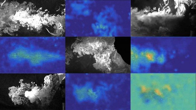 미국 프린스턴대 등 국제 공동연구팀은 여러 다른 문장들을 읽는 사람 입에서 나오는 작은 비말들을 레이저로 촬영해 비말들이 얼마나 빨리 또 얼마나 멀리 움직이는지 분석했다. 미국 프린스턴대 제공
