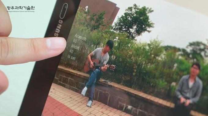 사운드줌 기능은 영상에서 원하는 소리만 골라 들을 수 있는 기능이다. 동영상 캡쳐