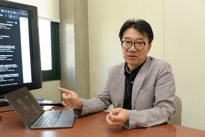 음성인식 인공지능(AI)을 이용해 ′AI펭톡′ 개발을 총괄한 박전규 한국전자통신연구원(ETRI) 인공지능연구소 복합지능연구실장. 한국전자통신연구원(ETRI) 제공