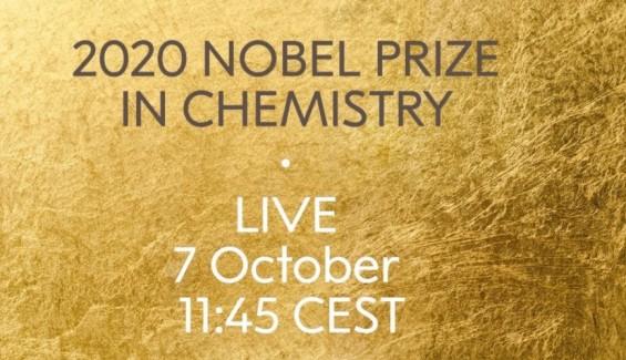 [생중계] 2020 노벨 화학상 수상자 오후 6시 45부터 발표