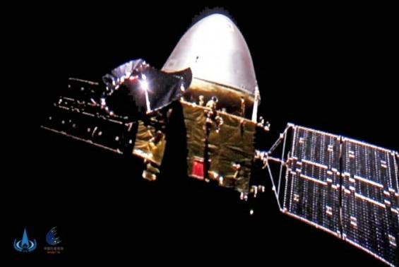 2940만km서 보내온 셀피… 中 화성탐사선 톈원1호