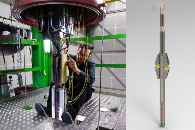 커먼웰스퓨전시스템즈(CFS) 연구원이 고온 초전도체의 케이블을 살펴보고 있다. CFS 제공.