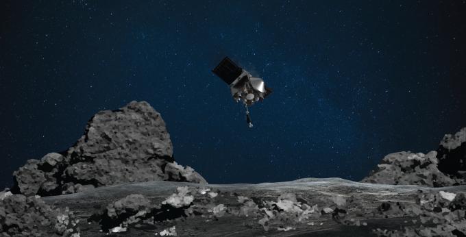 미국항공우주국(NASA)의 소행성 탐사선 오시리스-렉스가 한국시간으로 이달 21일 오전 7시 12분 소행성 베누에서 표본을 채취하는 임무를 수행한다. NASA 제공