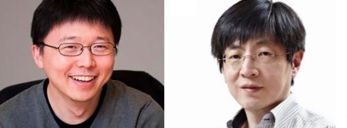 펑장 MIT 교수(왼쪽)와 김진수 서울대 교수. 위키미디어, IBS 제공.