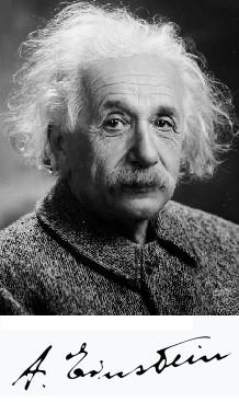 알베르트 아인슈타인. (1897~1966). 미 의회 도서관 제공