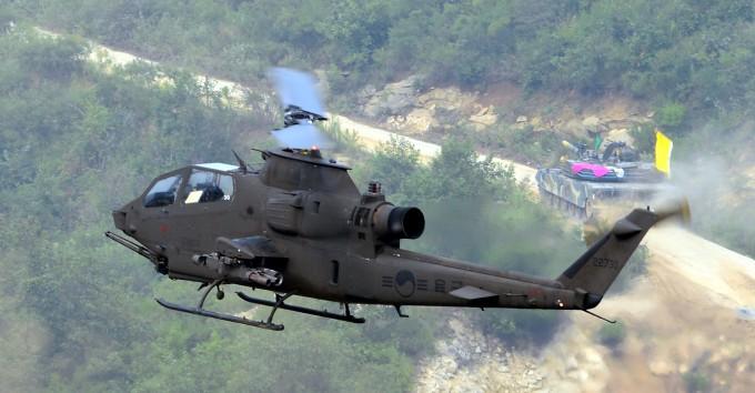 DX Korea 기동 화력시범. 대한민국방위산업전 제공