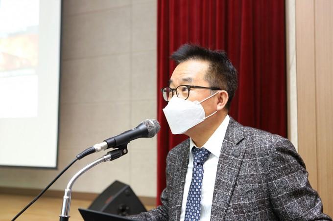 한국기계연구원이 선도형 핵심기술과제 통합착수회의를 27일 개최하고 한국형 경항모 비행갑판 설계기술 개발을 공식 시작했다. 한국기계연구원 제공