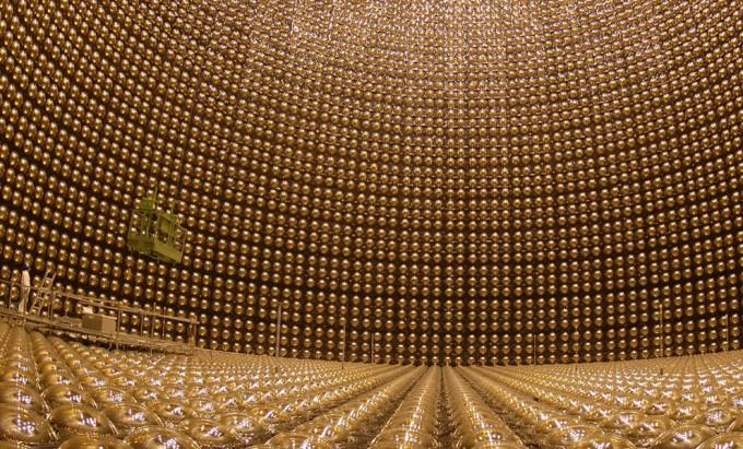 일본 중성미자 검출기 ′슈퍼-카미오칸데. 도쿄대 제공
