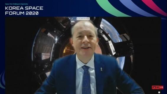 [코리아 스페이스포럼 2020]탄소감축·로봇과 협력, 우주탐사와 함께 진화하는 기술들