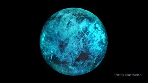 목성 위성 '유로파', 태양 빛 반사하는 달과 달리 자체 발광