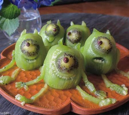 과일 깎기의 달인