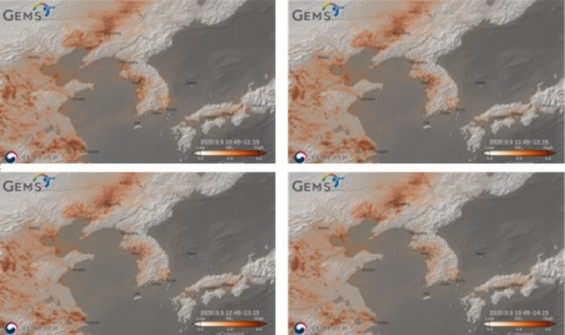 '아시아 미세먼지·대기오염물질 감시' 천리안2B 영상 첫 공개